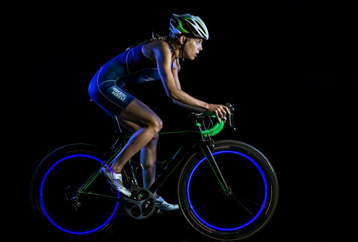 15 October 2015; Triathlete Aileen Reid. South Studios, Dublin. Picture credit: Stephen McCarthy / SPORTSFILE *** NO REPRODUCTION FEE ***